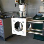 Support échantillon (laser)